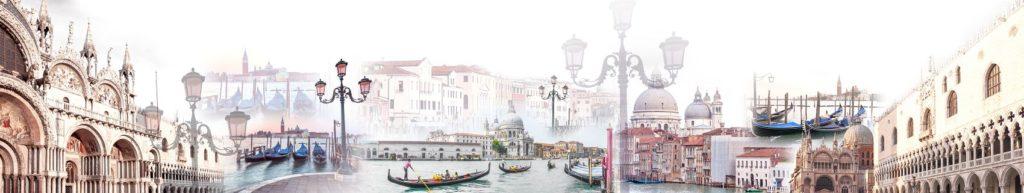 Фартук для кухни город Венеция