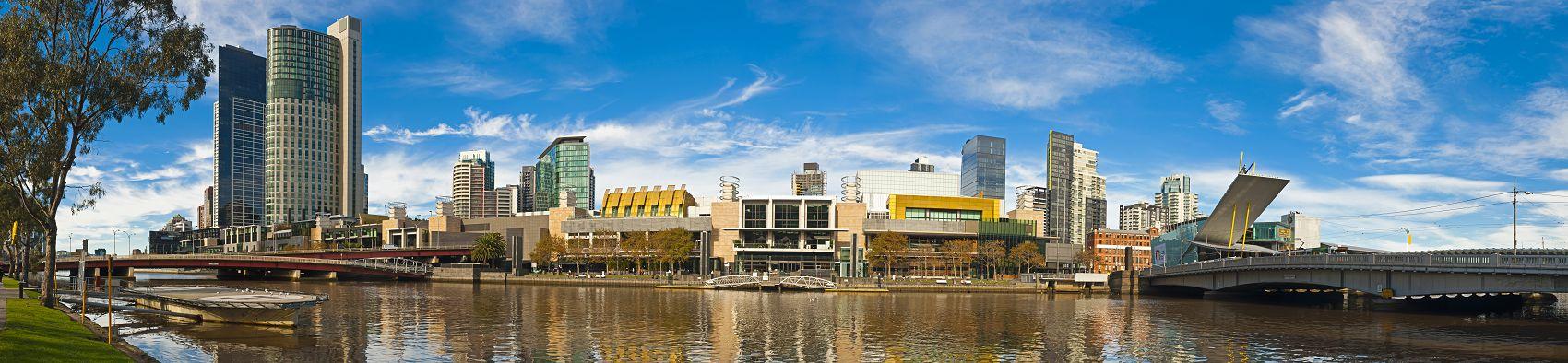 Мельбурн город в Австралии