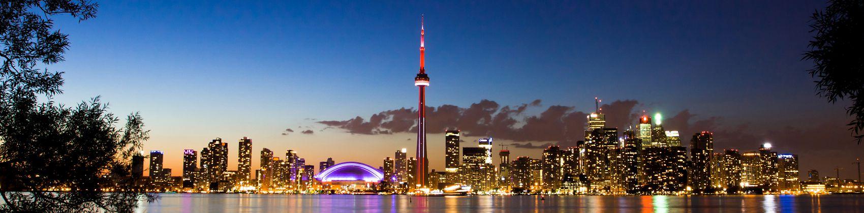 Город в Канаде