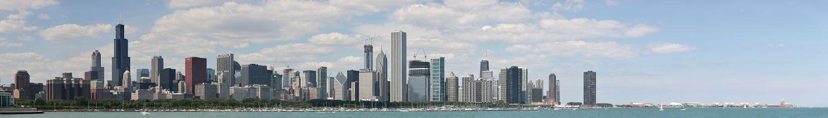 Панорама небоскребов Чикаго