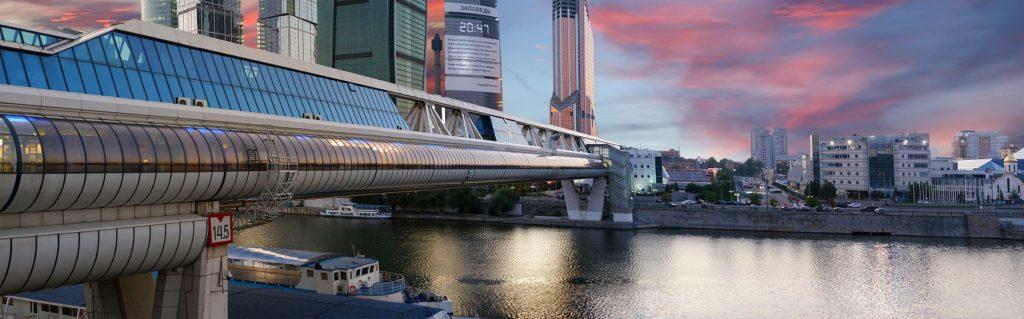 Мост Багратион в Москве