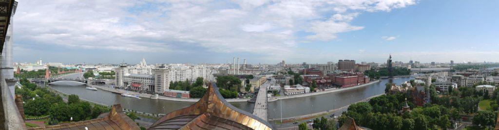 Москва река панорама