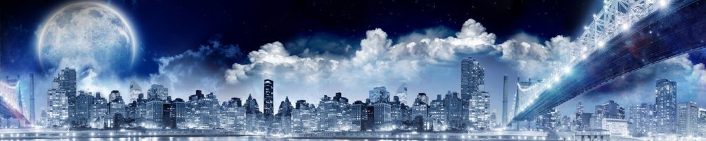 Нью-Йорк в синих тонах