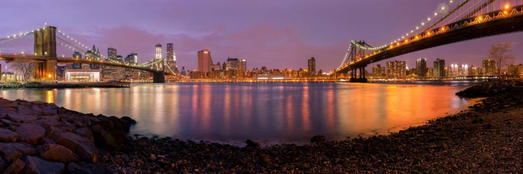 Бруклинский мост панорама
