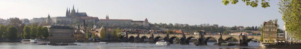 Карлов мост панорама