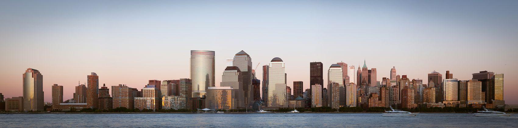 Манхэттен панорама