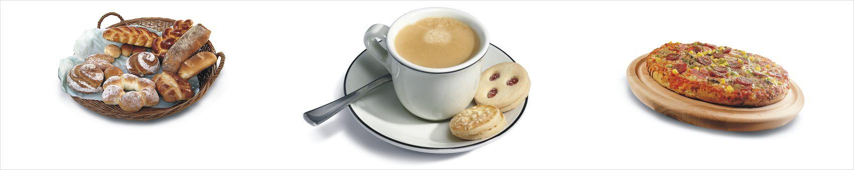 Чашка кофе с выпечкой