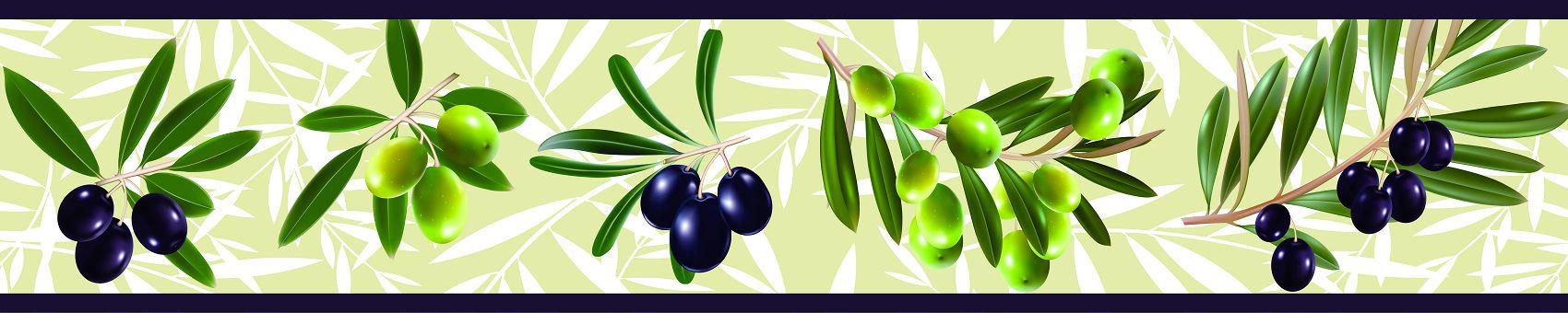 Кухонный фартук маслины