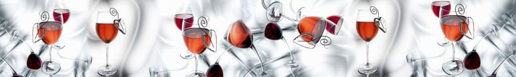 Фартук кухонный вино