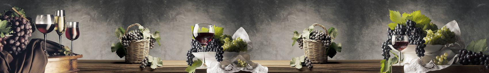 Скинали натюрморт с вином