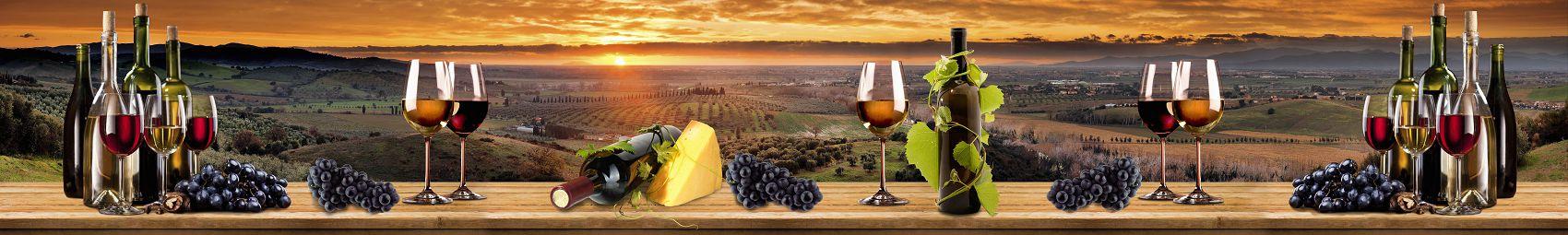Вино на фоне Грузии