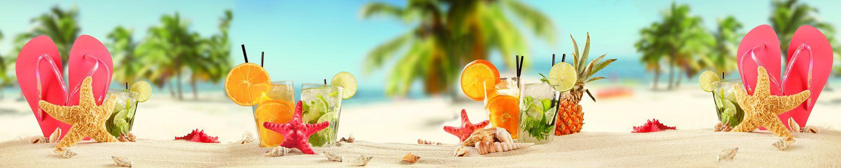 Отдых на море с коктейлем