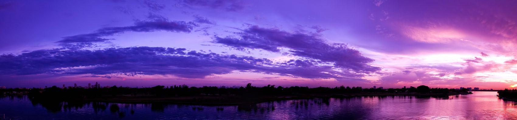 Малиновый закат