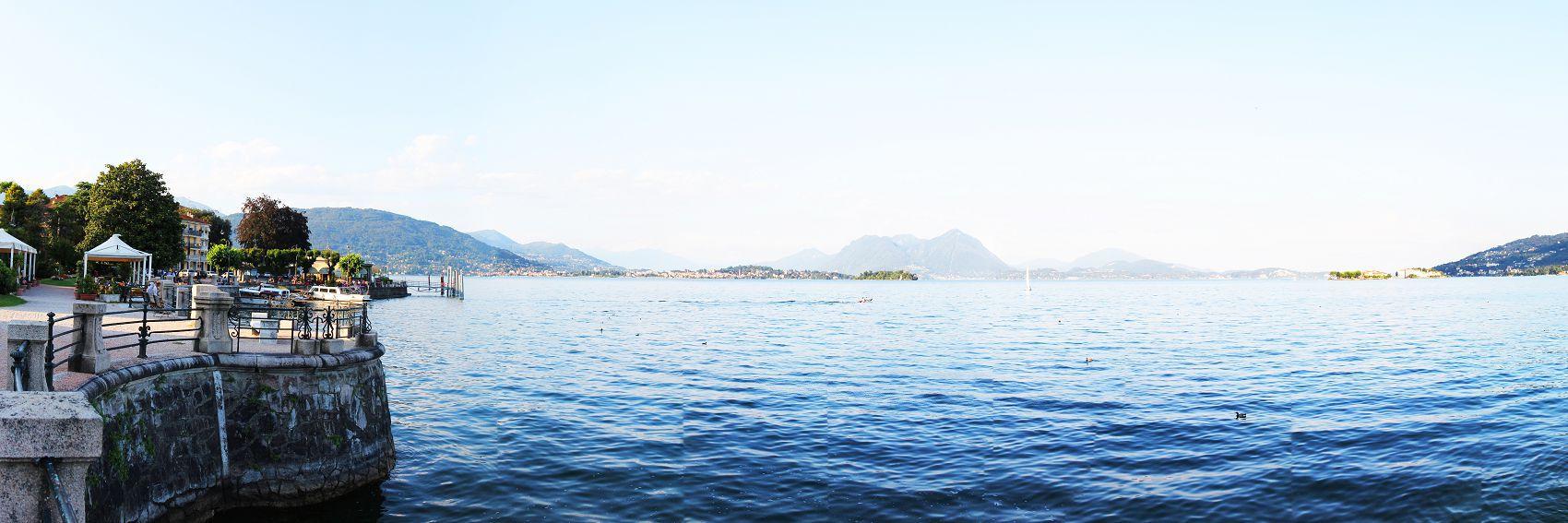 Озеро в Италии Комо