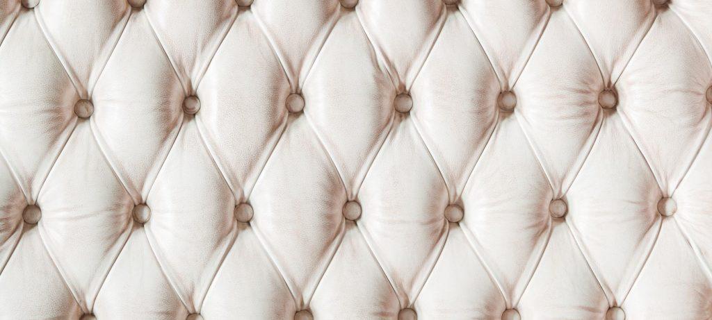 Текстура белой обивки