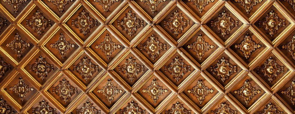 Текстура потолка